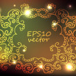 Colorful ornament background — Stock Photo