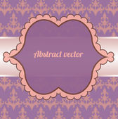 Invitation frame — Stock Vector