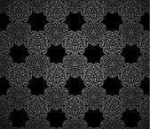 Ornamental vector wallpaper in classic style — Stock Vector