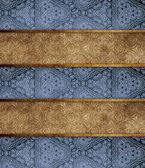 Ornamental wooden planks — Stockfoto