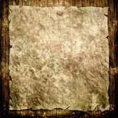 Old paper on grunge background — Stock Photo