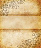 Vintage background (invitation template) — Stock Photo