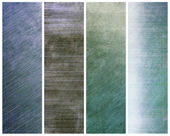 Iron plate - collection of aluminum textures — Stock Photo
