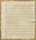 Folha de papel vazia — Foto Stock
