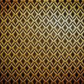 Metal süs (altın klasik desen) — Stok fotoğraf