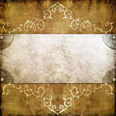 Vintage frame background — Stock Photo
