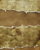 Cracked ornamental paper — Stock Photo