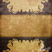 Vintage background (invitation template) — Stock Photo