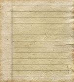 Foglio di carta vuoto — Foto Stock