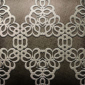 Metal with ornament — Stock Photo