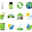 Ecology icons — Stock Vector #13434249