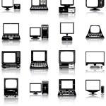 Computers — Stock Vector #13557619