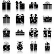 Gift boxes — Vecteur #13885249