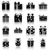Geschenk-boxen — Stockvektor