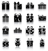 Gift boxes — Vecteur