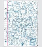 Home stuff — Stock Vector