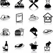 Restaurant icons — Stock Vector #31165471