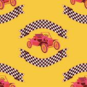 ビンテージ スポーツカー レース — ストック写真