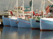 Fishing boats — Stockfoto