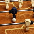 Stock Photo: Hardwood Foosball Table Game