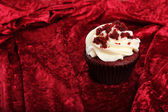 Cupcake velours rouge — Photo