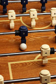 Hardwood Foosball Table Game — Stock Photo