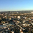 Speed Up Aerial View of Los Angeles Freeway, Highway, Suburbs — Stock Video