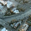 Busy City Highway Interchange — Stock Video