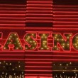 Las Vegas Casino Neon Sign — Stock Video #16340227