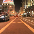 Time lapse San Francisco City Streets at Night - Zdjęcie stockowe