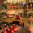 Time Lapse Of Traffic In San Francisco At Night — Stock Video