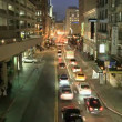 Time Lapse Of Traffic In San Francisco At Night  — Stock Video #16364405