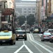 Time Lapse Of Traffic In San Francisco — Stock Video
