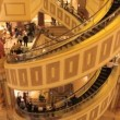 Spiral Escalator at the Forum Shops — Stok video