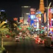 Time Lapse of the Las Vegas Strip Neon — Stock Video #16384787