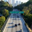 Time Lapse of Downtown Los Angeles with Traffic — Stock Video #16641239