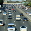 Busy Highway in Los Angeles - Tilt Shift — Stock Video