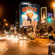 Stock Video: Time Lapse of Traffic on the Sunset Strip - Los Angeles California