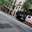 Stock Video: Tilted NYC Street Traffic - Time Lapse