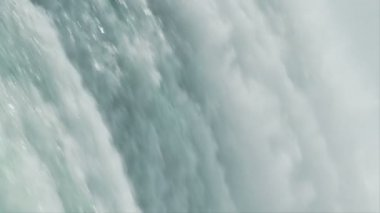 Niagara Falls Slow Motion — Stok video