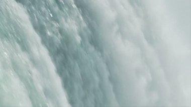 Niagarské vodopády zpomalený pohyb — Stock video