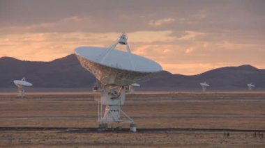 Very Large Array - Time Lapse — Stock Video