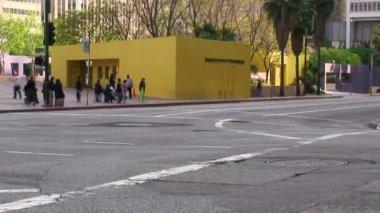 LA City Traffic - Time Lapse — Stock Video