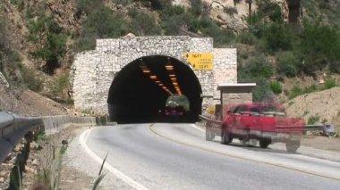 Upływ czasu - los angeles tunelu — Wideo stockowe