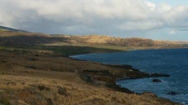 Lapso de tiempo mar costa - maui hawaii — Vídeo de stock