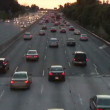 Lapse of Los Angeles Freeway Traffic — Stock Video