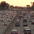 Rush Hour Traffic in Los Angeles — Stock Video