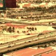 Las Vegas Traffic - Time Lapse Overhead - Foto Stock