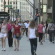 Chicago Pedestrians — Stock Video
