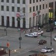 Chicago Downtown Traffic - Time Lapse — Stockvideo